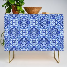 For the Love of Blue - Pattern 372 Credenza