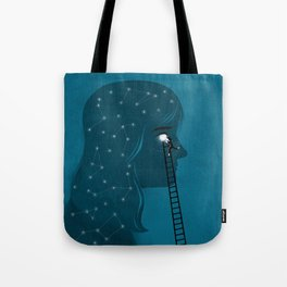 Into the deeps Tote Bag