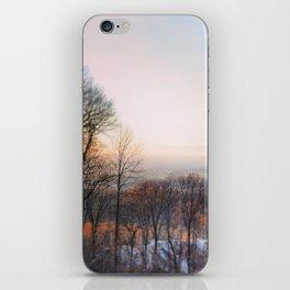 Orange Sunset iPhone Skin