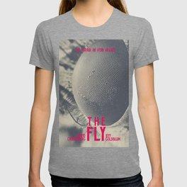 The Fly, horror movie poster, David Cronenberg, Jeff Goldblum, alternative playbill T-shirt