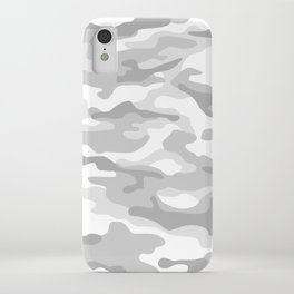 Snow Camo iPhone Case