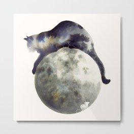 Lunar Hunter Metal Print