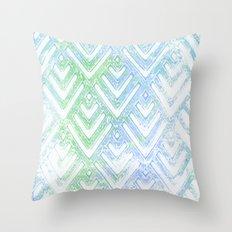 Pastel Chevrons Throw Pillow