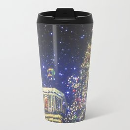 festive greetings ^_^ Travel Mug