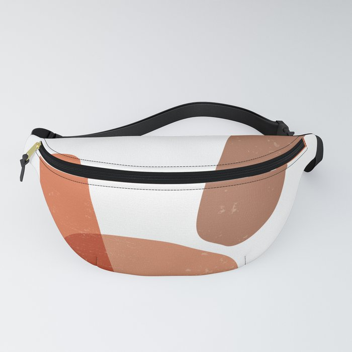 Earthtones 03 - Minimal, Contemporary Abstract Fanny Pack