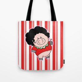 Candy Canes and Ugly Christmas Sweaters Tote Bag