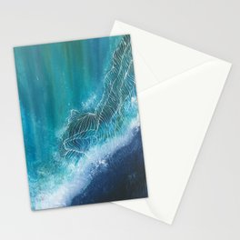 Enchanting Waves Stationery Cards