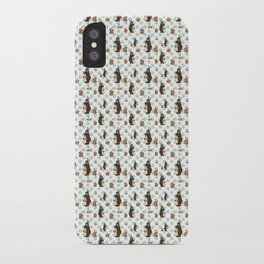 Parisian Chocolate Bunnies iPhone Case
