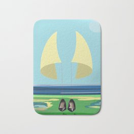 Soaring the Airs with May on a Relaxed Sunday - shoes stories Bath Mat