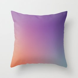 GUILTY  CONSCIENCE - Minimal Plain Soft Mood Color Blend Prints Throw Pillow