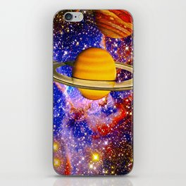 Stars and Planets iPhone Skin