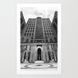 500 Boylston, Boston Art Print
