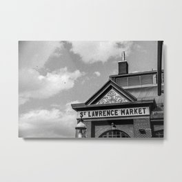 St.Lawrence market Metal Print