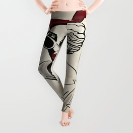 My Style is Red Wine - Sassy City Girl in Shades Leggings