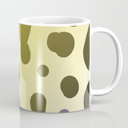 Wild design dots b-white Coffee Mug