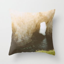 The Dungeons: Dark and Deep Throw Pillow