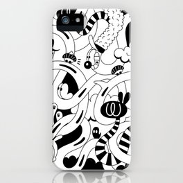 Endless surfing iPhone Case