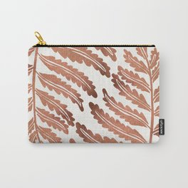 Fern Leaf – Rose Gold Palette Carry-All Pouch