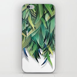 """Spring Forest of Surreal Leaf"" iPhone Skin"