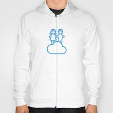 Couple in the clouds Hoody