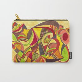 waves in warm colors Carry-All Pouch