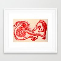 santa Framed Art Prints featuring Santa  by Bengali Dyes - Danny Bailey