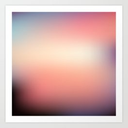 Sunset Gradient 8 Art Print