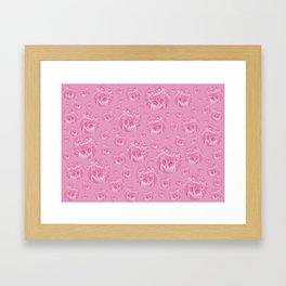 Kittys for girls Framed Art Print