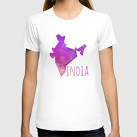 india T-shirts featuring India by Stephanie Wittenburg