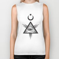 occult Biker Tanks featuring occult +++ by calix