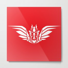 Pegasus (W/R) Metal Print