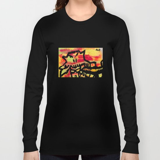 Ghost painting Long Sleeve T-shirt