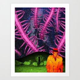 the black meat Art Print