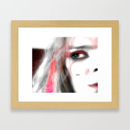 Tales Of Karla... Framed Art Print