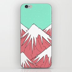 The mountains and the sky iPhone Skin