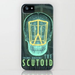 Think Outside the Scutoid iPhone Case