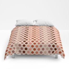 Emelina dots apricot Comforters
