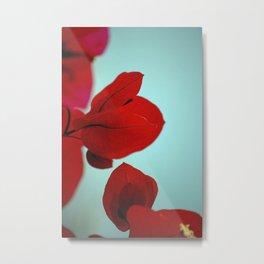 Flower flash Metal Print