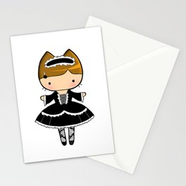 Kuro Lolita Kitty Stationery Cards