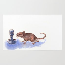 Mouse and Pawn Rug