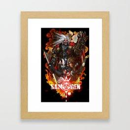 Join the Fight Framed Art Print