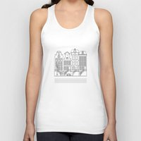 amsterdam Tank Tops featuring AMSTERDAM by Anna Lindner
