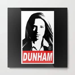 Obey Dunham Metal Print