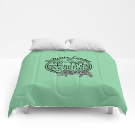 Schrute Farms bed and breakfast and self defense Comforters