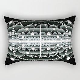 Neuromorphic Chip - Futuristic Technology Rectangular Pillow
