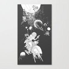 rocket lass Canvas Print