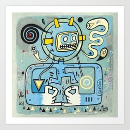 Cosmonautique  Art Print