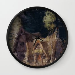 The Cottage of the Dwarves Wall Clock
