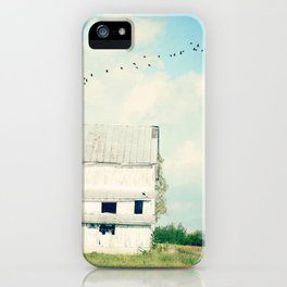 mead barn iPhone Case