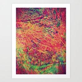 Philosopher & Fool - Color Jungle Art Print